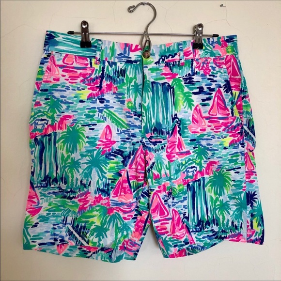387ddcffd9198 Lilly Pulitzer Other - Lilly Pulitzer Men's Short- Salt in the Air Sz 32